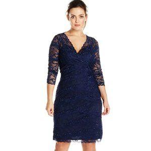 Dresses & Skirts - Women's Size Crescent Lace Dress